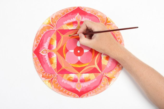 ¿Para qué sirve pintar Mandalas?