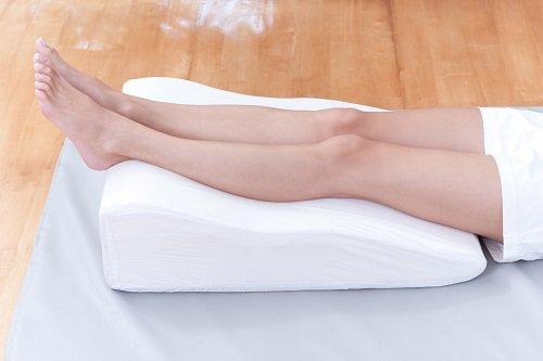 ¿Para qué sirve poner las piernas en alto?
