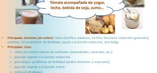 ¿Para qué sirve la maca andina?