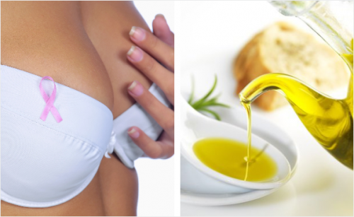 El aceite de oliva sirve para prevenir el cancer de mama