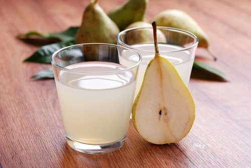 ¿Para que sirve el agua de pera?