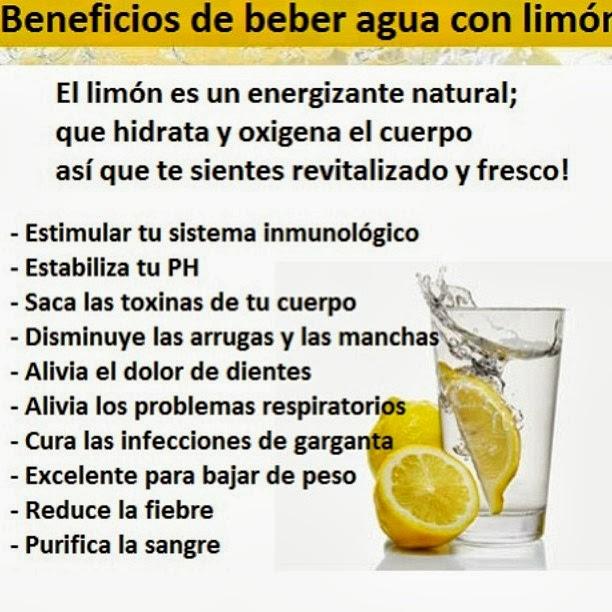 Para qué sirve beber Agua con Limón en ayunas