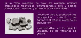 Para qué sirve el Hierro en el Organismo, Funciones de este mineral