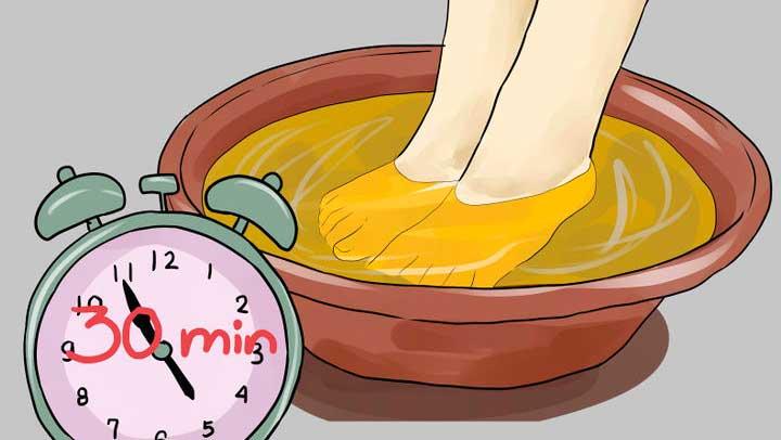 vinagre-de-manzana-pies