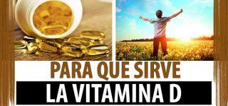 Para quá sirve la vitamina D