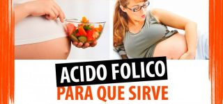 Para qué sirve el ácido fólico