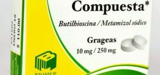 ¿Para qué sirve la Butilhioscina?