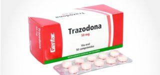 Para qué sirve la trazodona