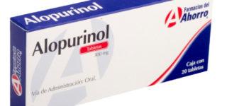 Para qué sirve el Alopurinol