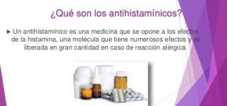 ¿Para que sirve un Antihistamínico?
