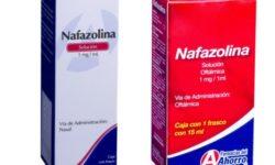 Para qué sirve la Nafazolina